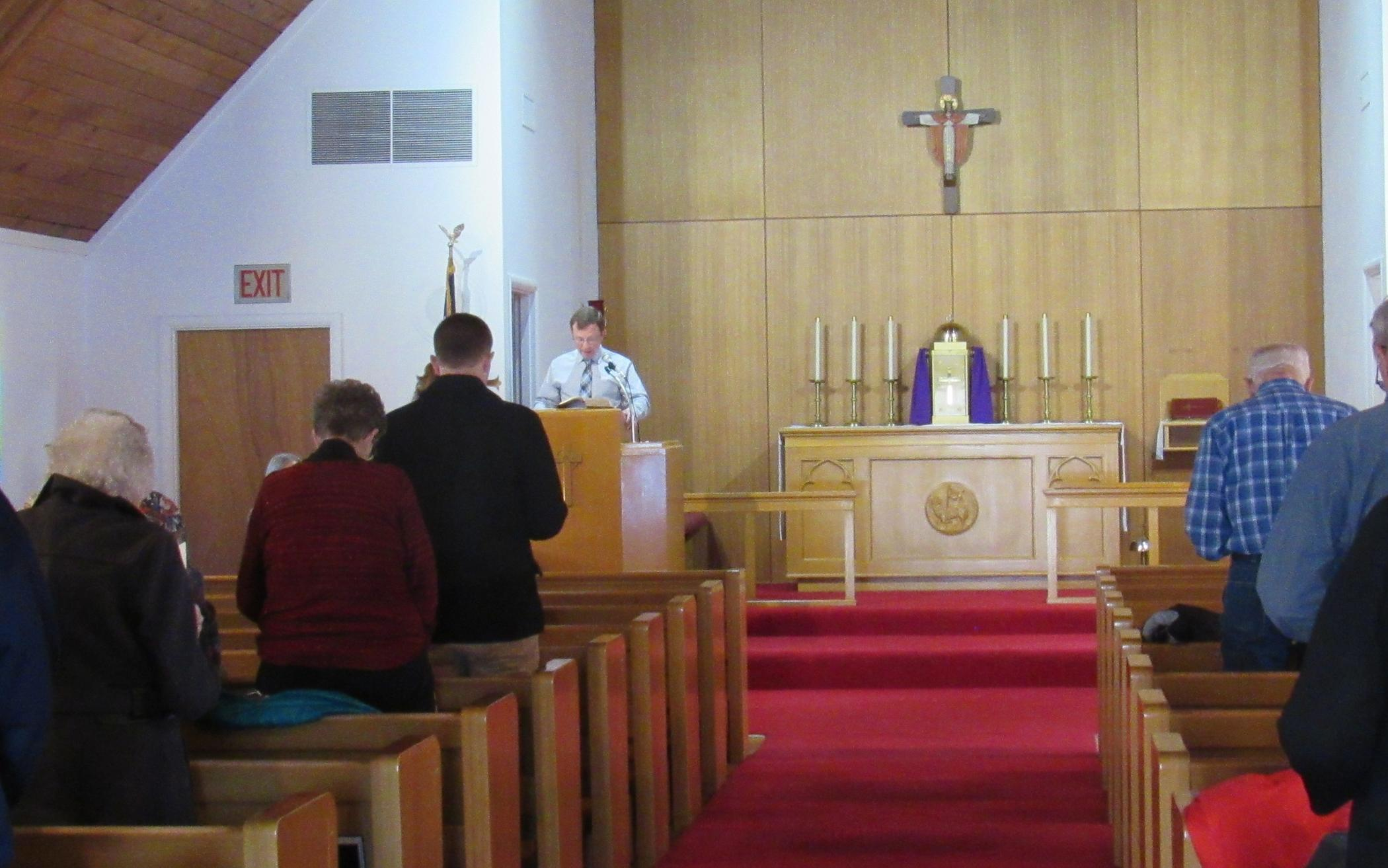 South Dakota Church Participates in Lenten Lunch Series