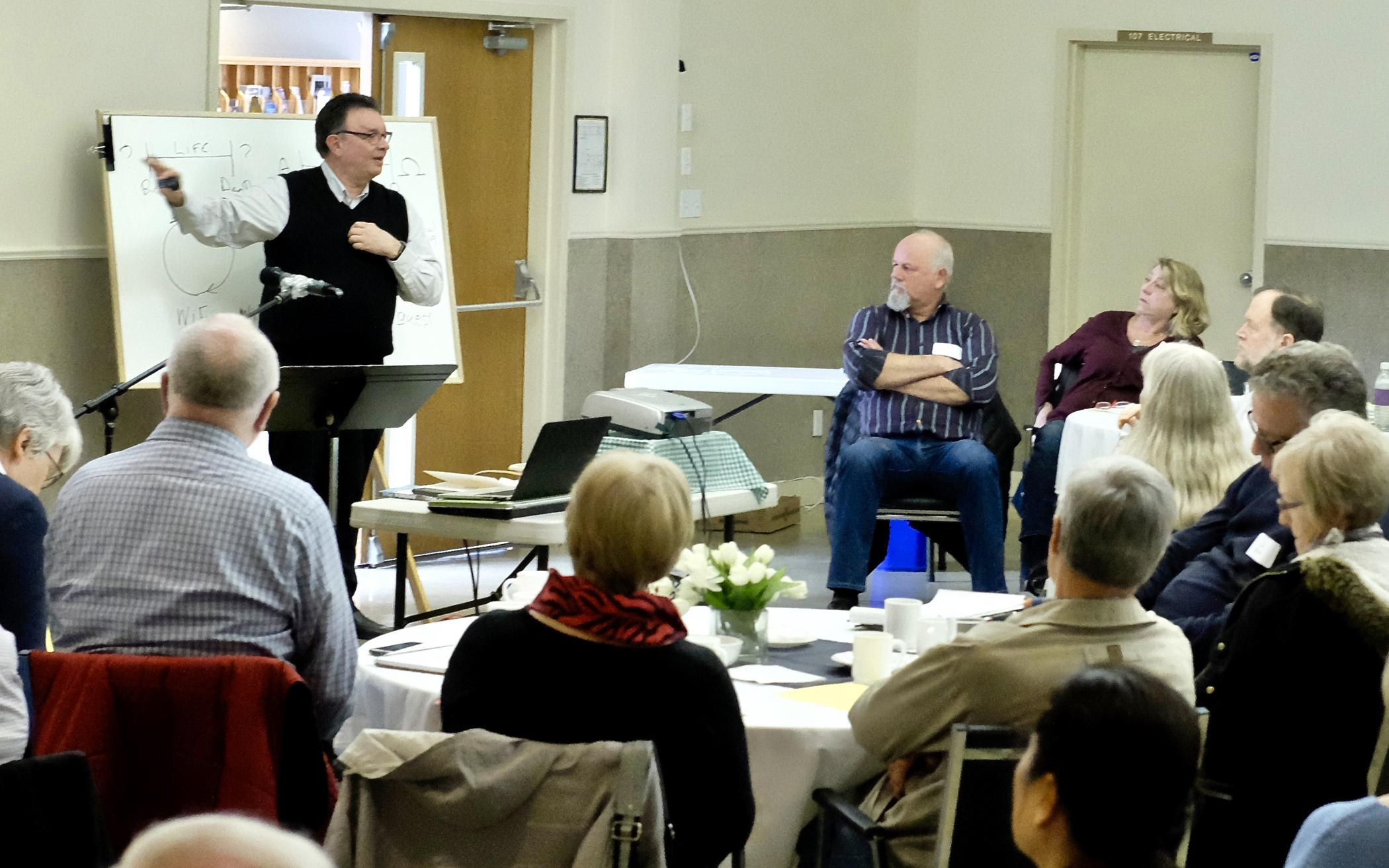 B.C. Churches Host 'Reframing Retirement' Workshop