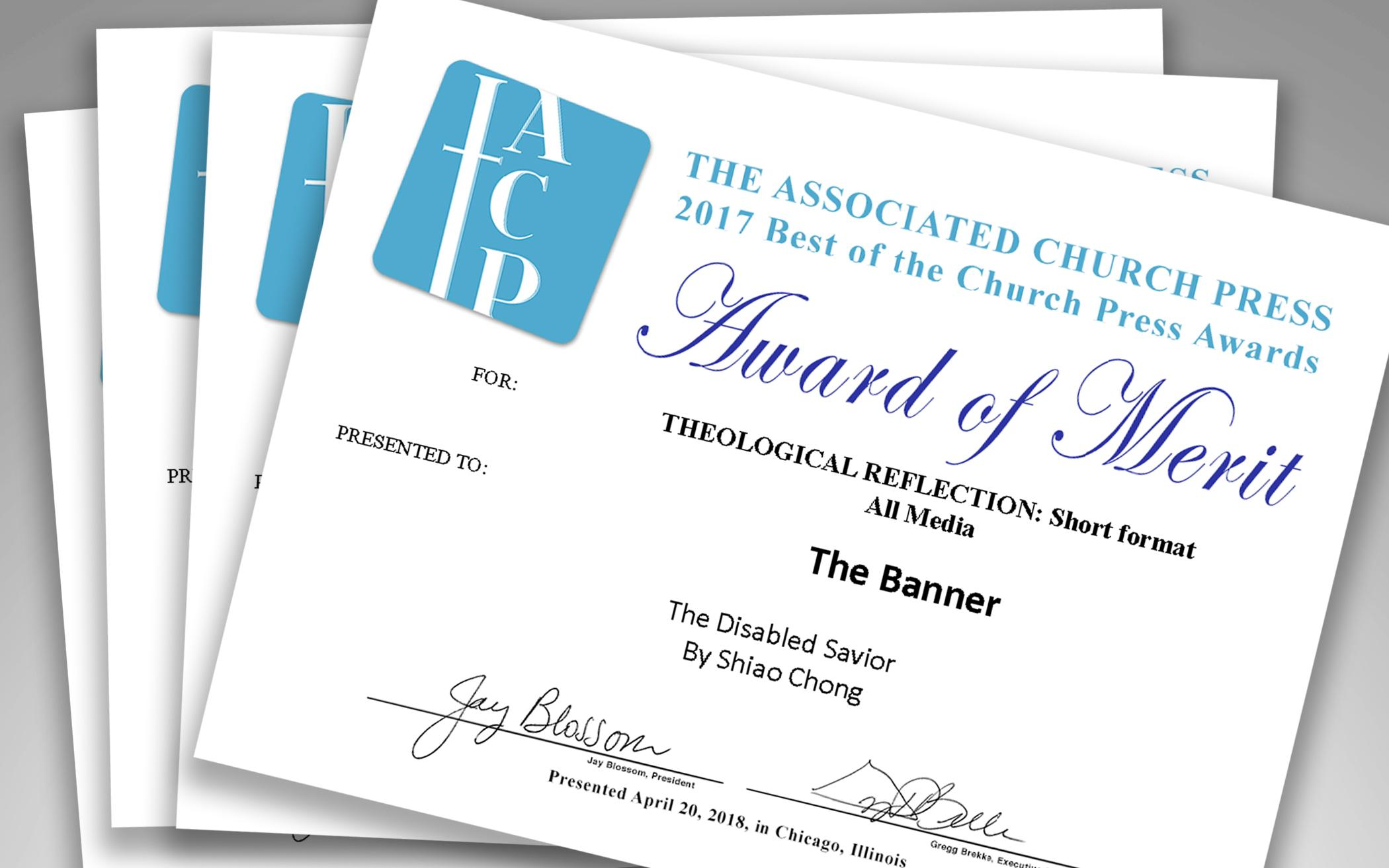 The Banner Receives Awards Of Merit Honorable Mentions From
