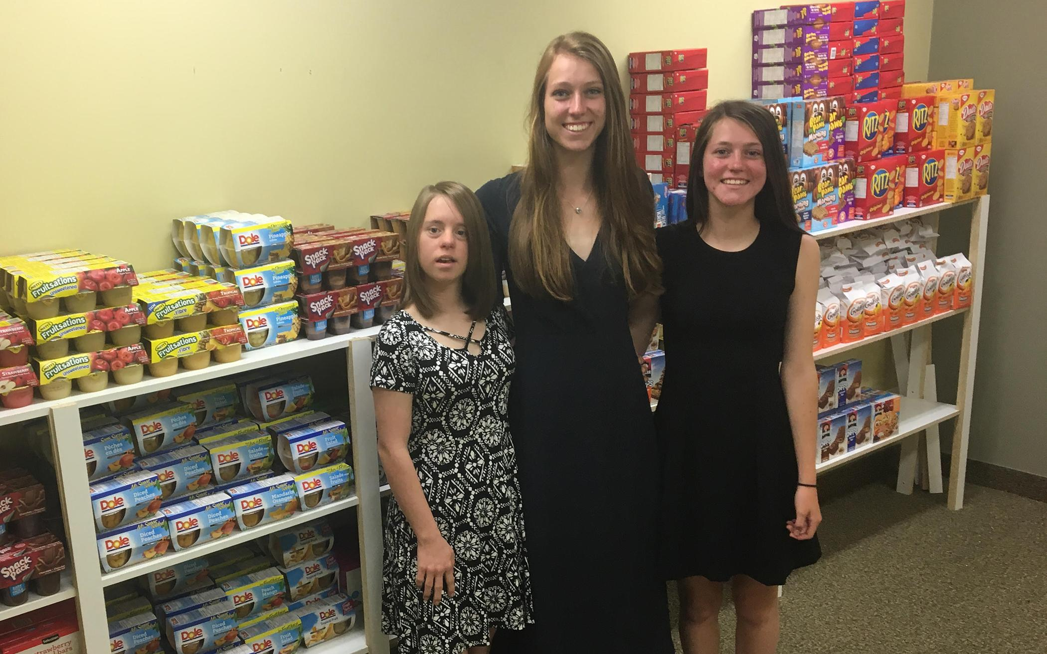 Sisters' Summer Snacks Make a Difference in Sarnia