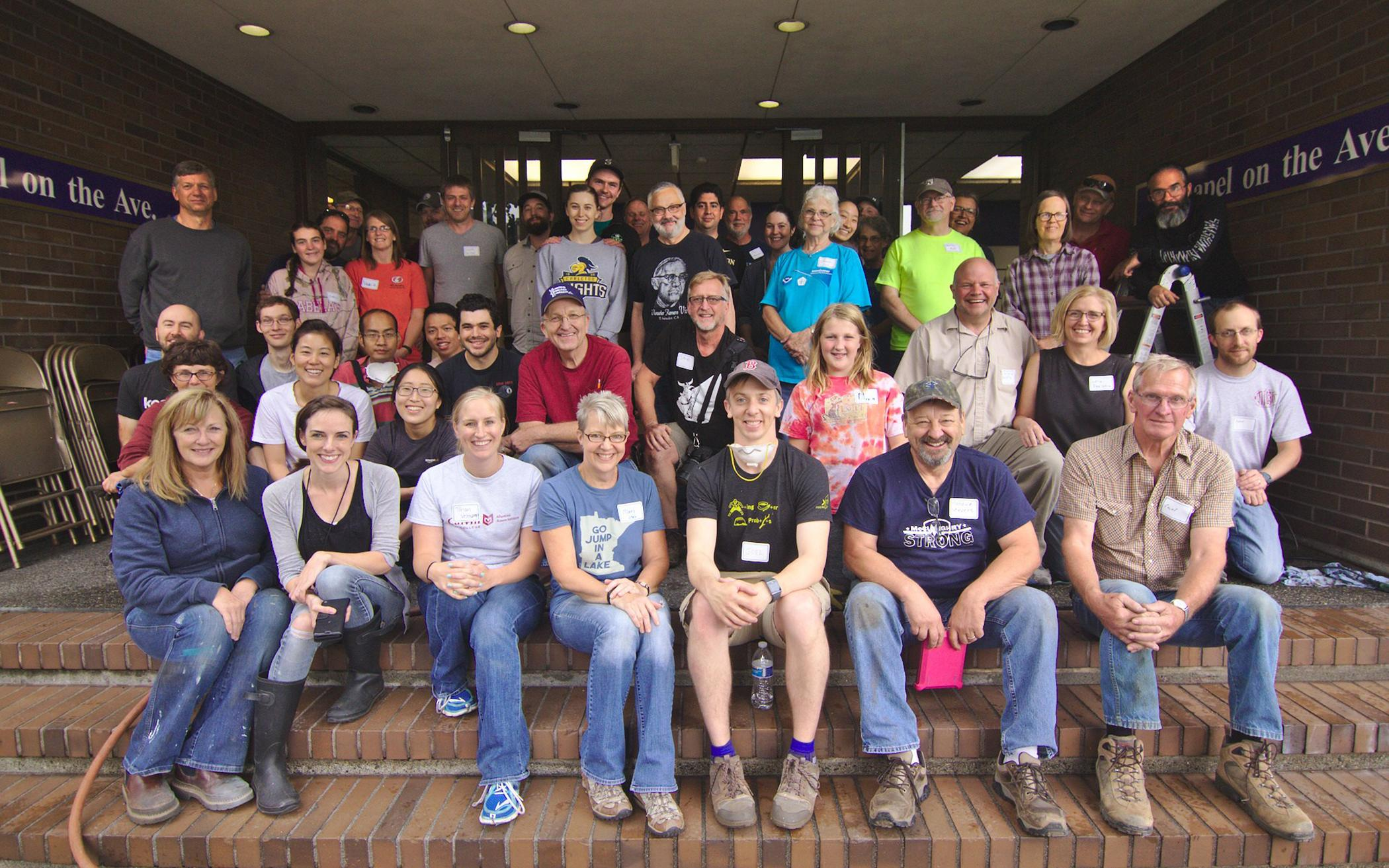Many Hands Make Light Work for Seattle Church Plant