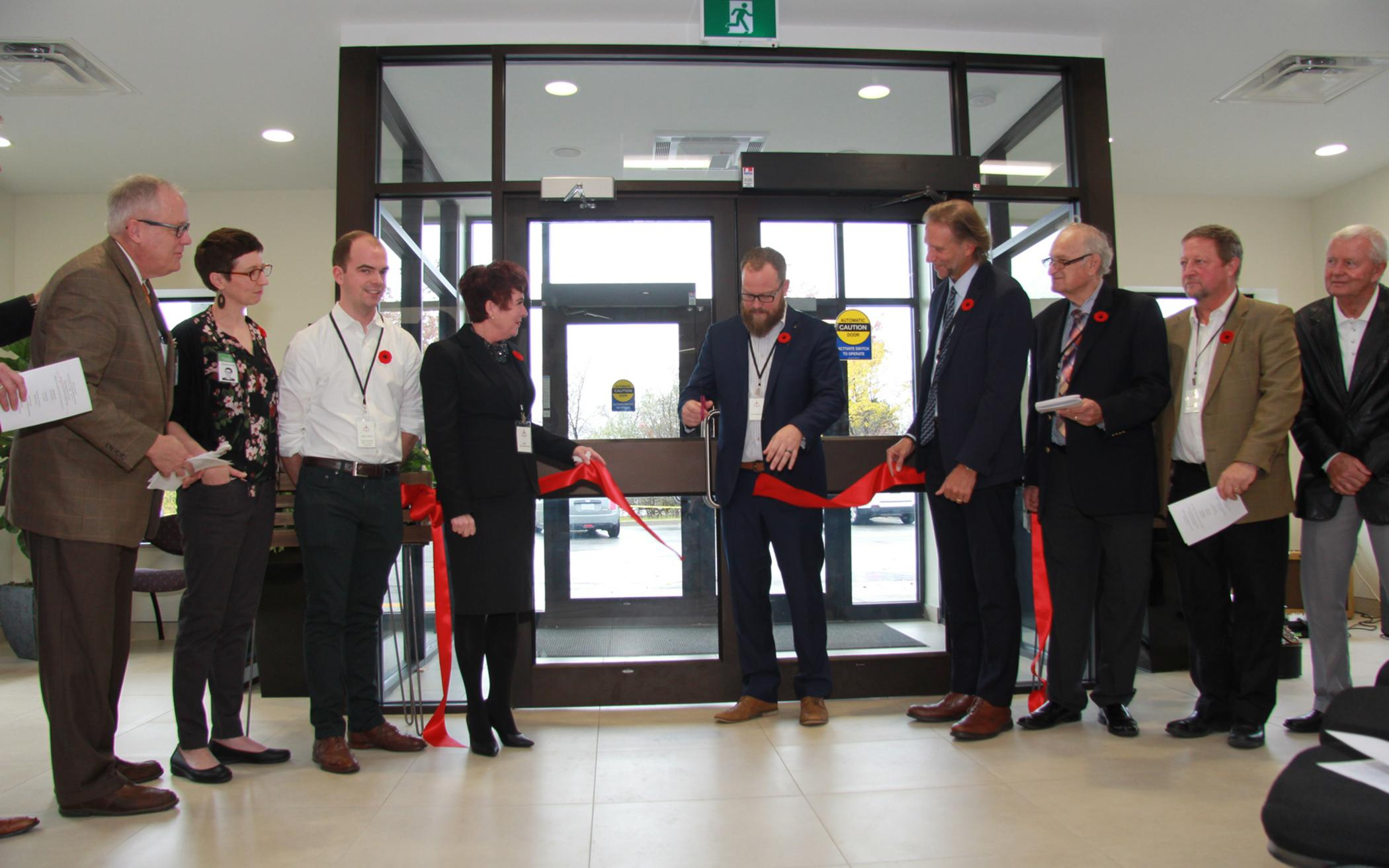 CRCNA Celebrates Re-opening of Canadian Office