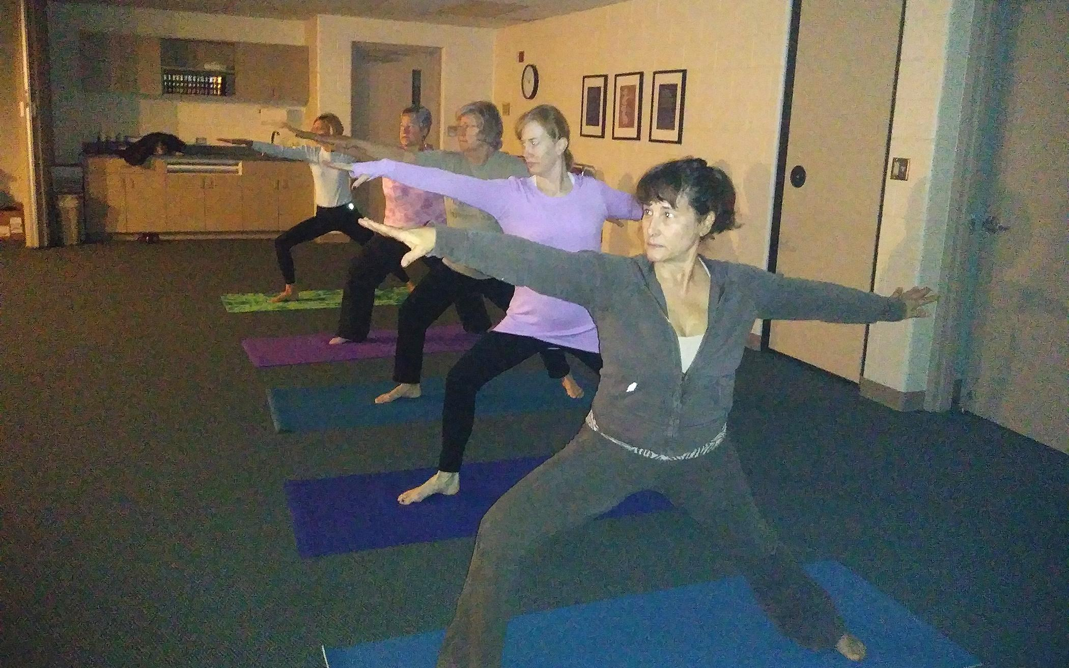 Church's 'Breathing Space' Offers Yoga, Psalms