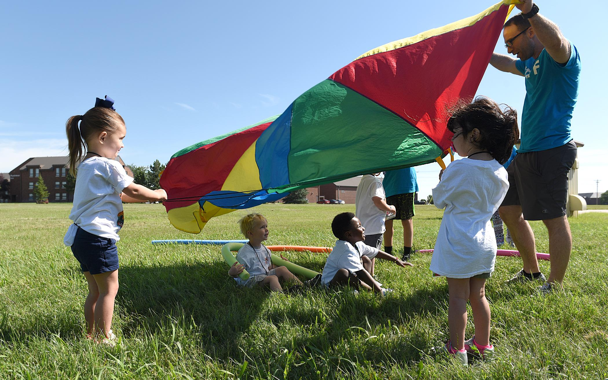 Iowa Youth Group Supports Air Force Base VBS