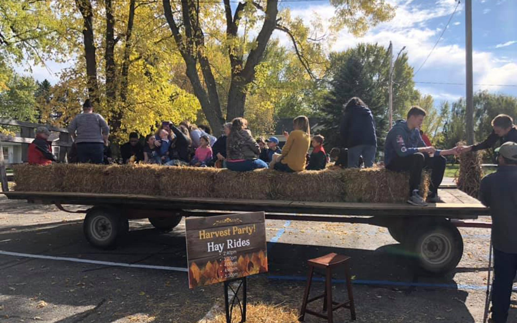 Harvest Party Welcomes Neighbors, Shares Gospel