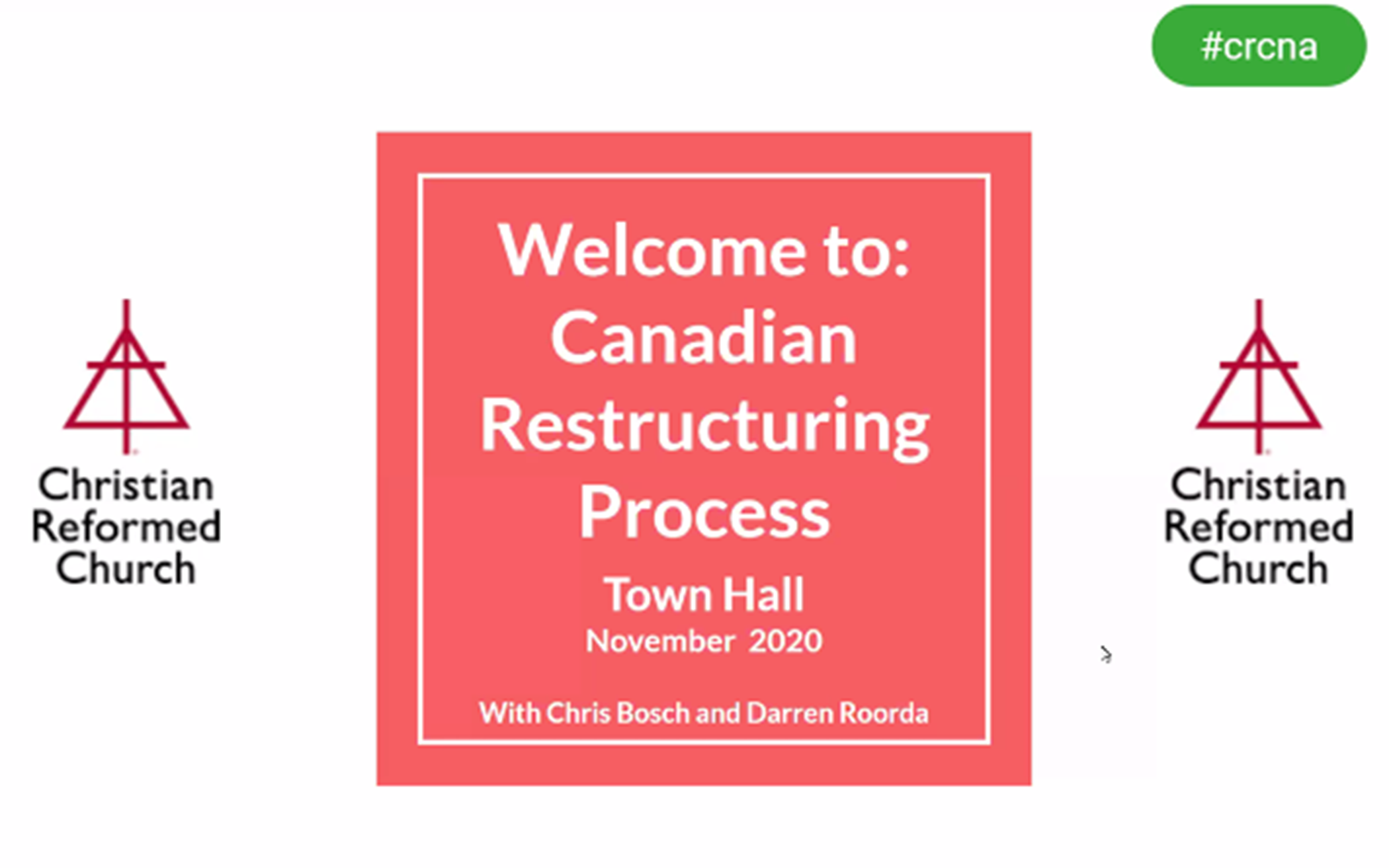 CRC in Canada Reviews Governance