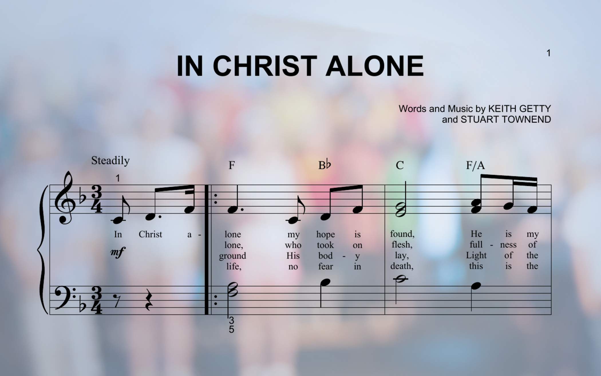 Twenty Years Later, 'In Christ Alone' Still Inspires Millions to Sing