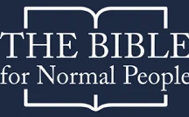 The Bible for Normal People Podcast