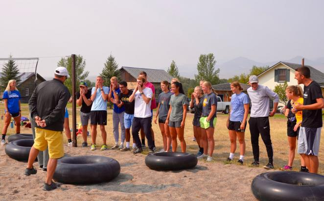 Student Athletes Attend Christian Leadership Retreat