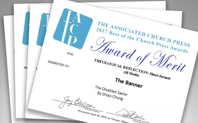 The Banner Receives Awards of Merit, Honorable Mentions from Associated Church Press