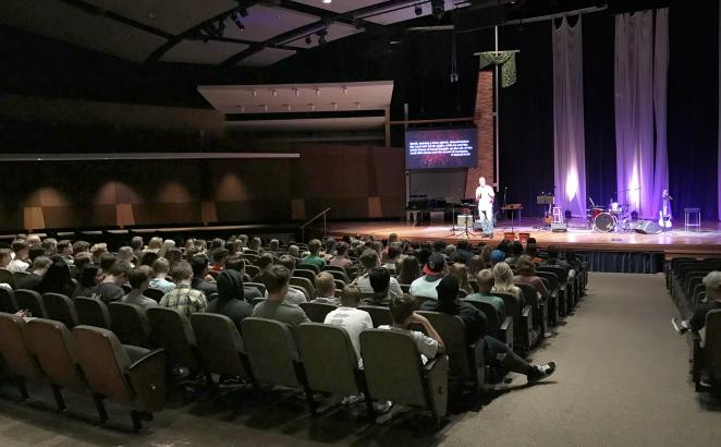 Championing Youth Ministry in Illinois: Big Night of Worship