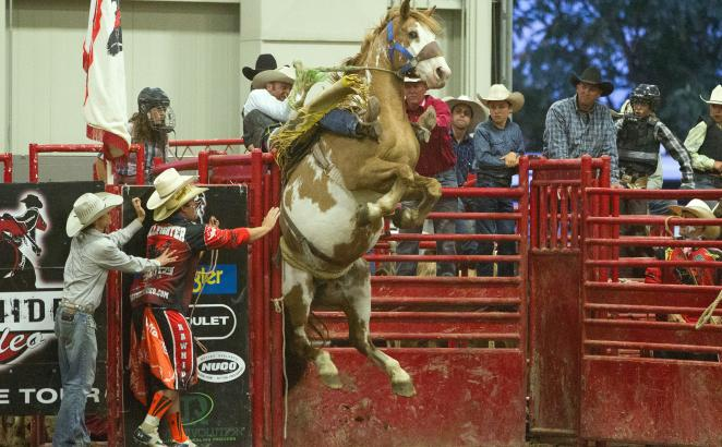 Congregation Backs Member's Rodeo Outreach Ministry