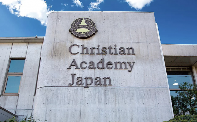 The Christian Academy in Japan. Photo via Facebook
