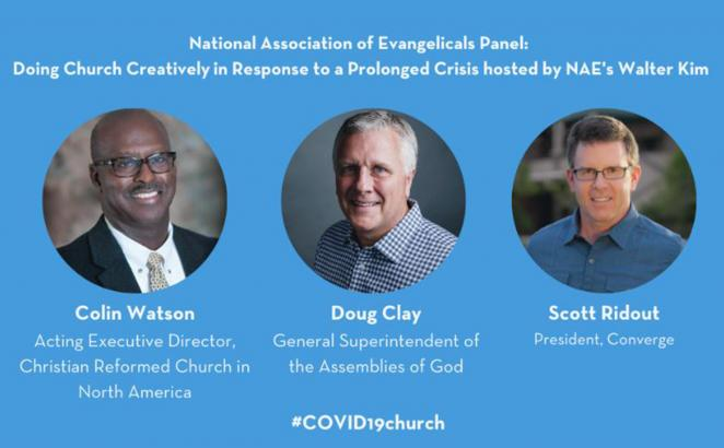 Colin Watson Joins Christian Leaders in COVID-19 Church Online Summit