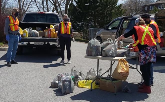 Ontario Church's Community Food Drive Sparked by the Spirit