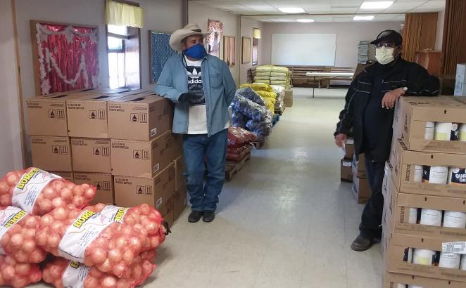 New Mexico CRC Serves as Food Hub in Pandemic-affected Community