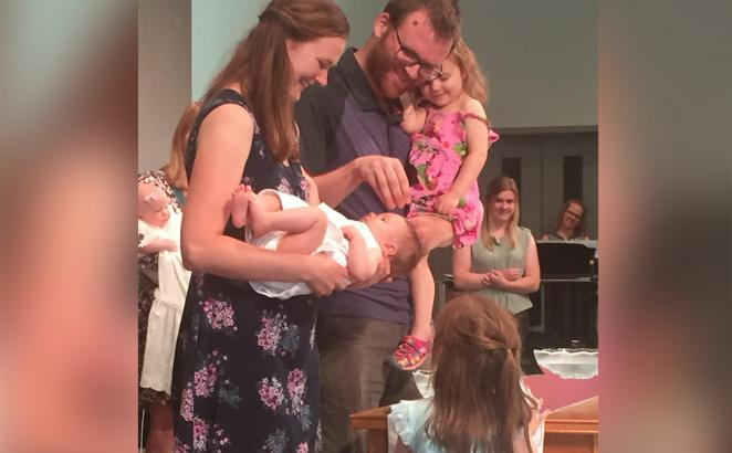 Churches Welcome Babies, Adapt Baptism During COVID-19