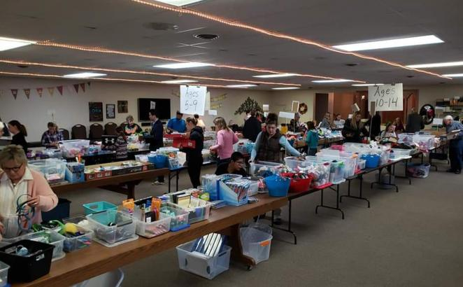 Wisconsin CRC Hosts Operation Christmas Child Workshop
