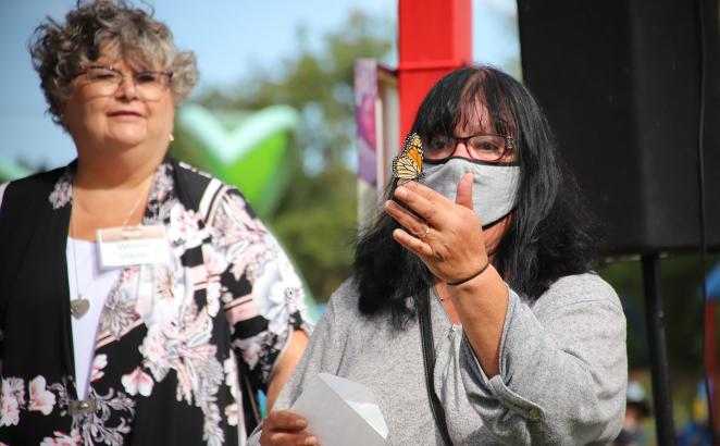 Ontario Church's Grief Support Ministry Hosts Butterfly Release
