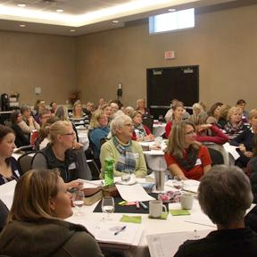 Women leaders from 23 different Ontario churches learn and grow together.