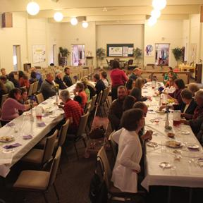 Fellowship CRC celebrates with a Seder.