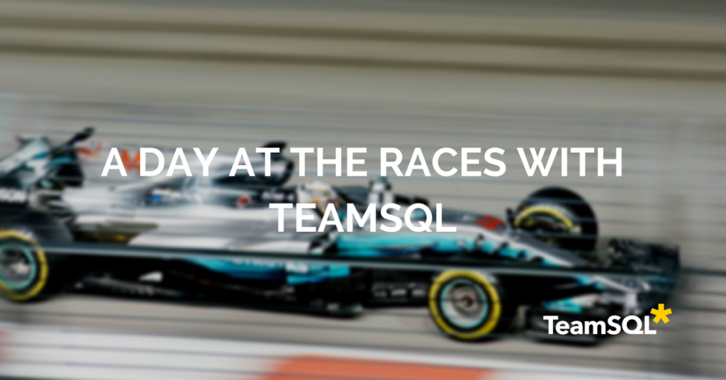 A Day At Races With TeamSQL 🏎