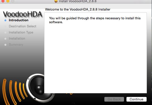 Madison : Voodoohda install
