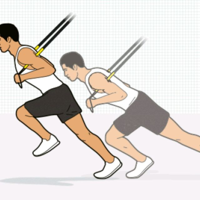 How to do: TRX HIGH KNEES - Step 1