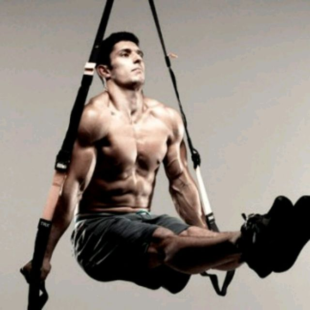 How to do: TRX HANG THOUGH - Step 1