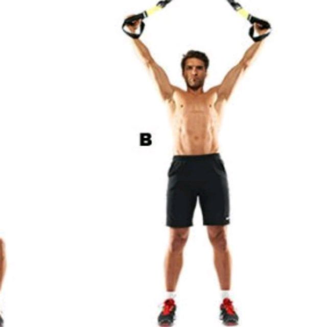 How to do: TRX SQUAT TO FLY - Step 2
