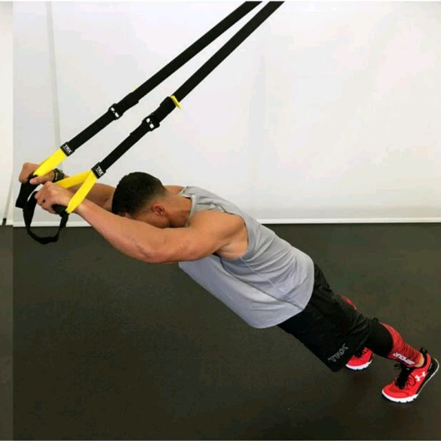 How to do: TRX ROLLOUT/ PUSHUPS - Step 1