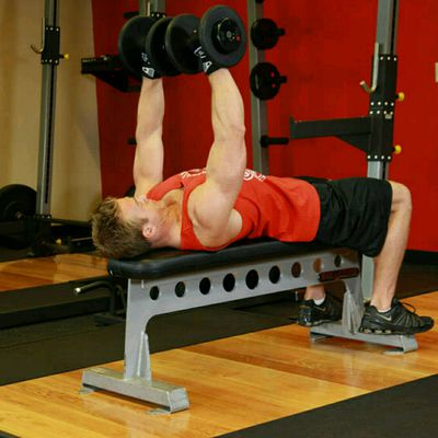 Dumbbell Bench Press (custom)