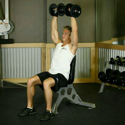 Dumbbell Shoulder Press (custom)