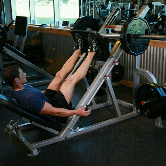 How to do: Leg Press (custom) - Step 2