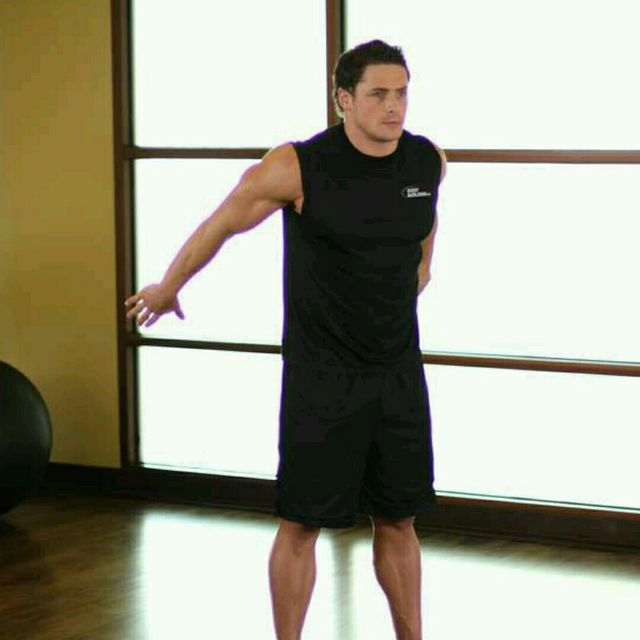 How to do: Dynamic Back Stretch (custom) - Step 1