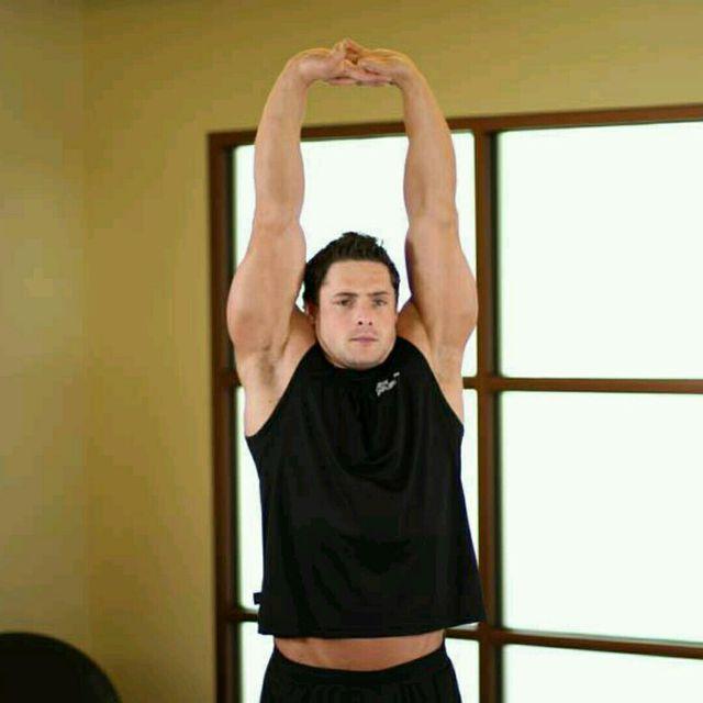 How to do: Upper Stretch (custom) - Step 1