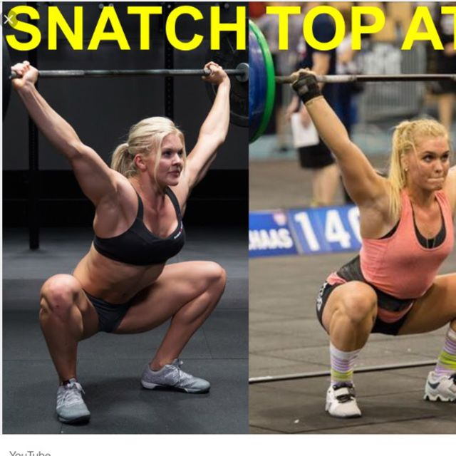 How to do: Snatch Barbell - Step 1