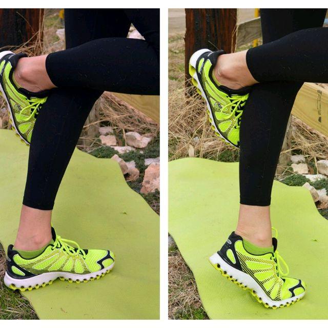 How to do: Single Leg Calf Raise (Left) - Step 1