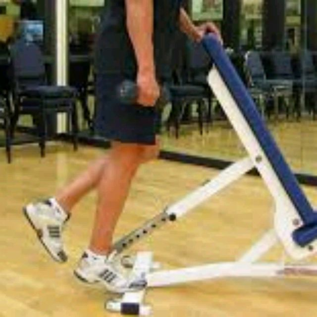 How to do: Single Leg Calf Raise (Left) - Step 2