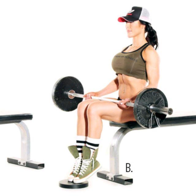 How to do: Seated Calf Raises - Step 1