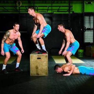 Burpee To Box Jump