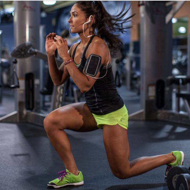 How to do: Plyo Lunges (15) - Step 1