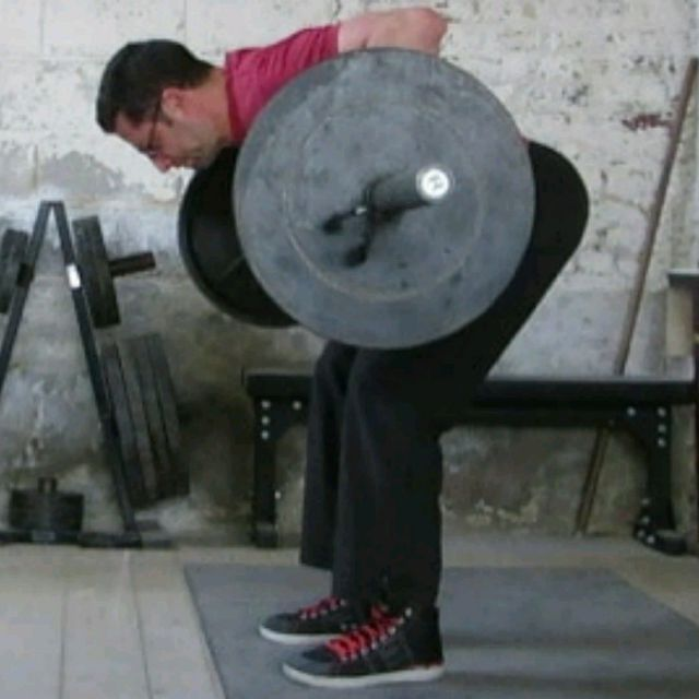 How to do: Barbell Row - Step 1