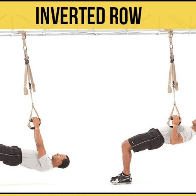 How to do: Trx Inverted Row - Step 1