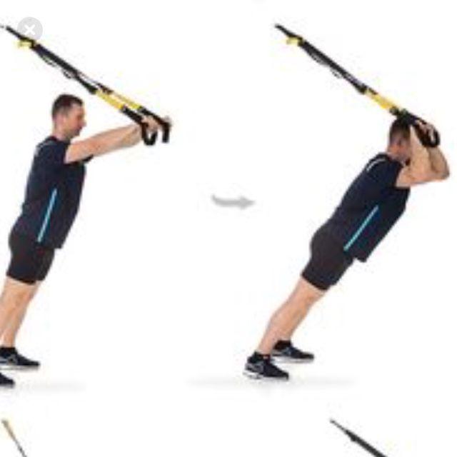 How to do: Trx Tricep Kickback - Step 1