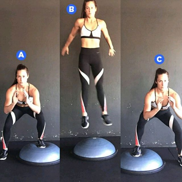 How to do: Bosu Up And Overs - Step 1