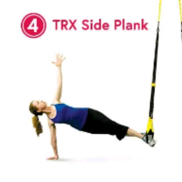 How to do: TRX Side Planks - Step 1