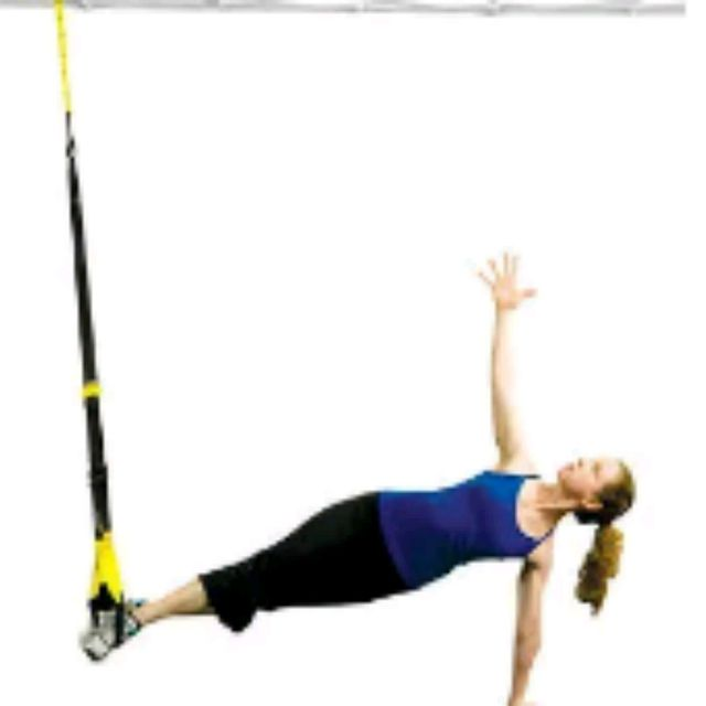 How to do: TRX Side Planks - Step 2