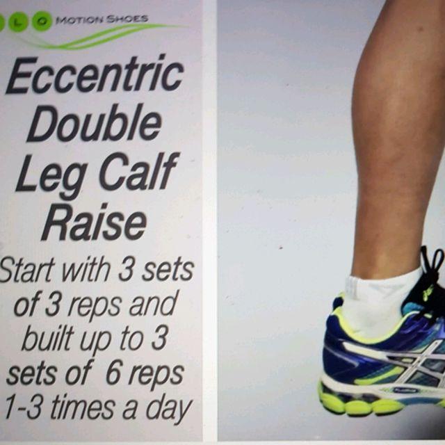 How to do: Eccentric Double Leg Calf Raise - Step 1