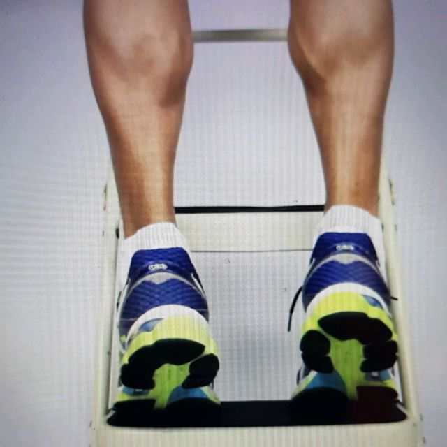 How to do: Eccentric Double Leg Calf Raise - Step 3